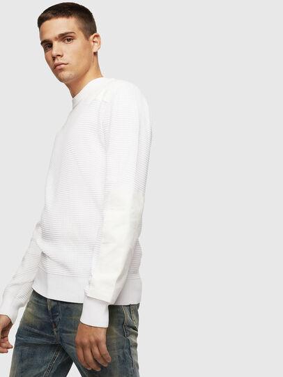 Diesel - K-LESTER, White - Knitwear - Image 4