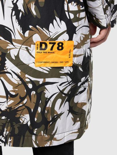 Diesel - W-TORRENCE, White/Black - Winter Jackets - Image 4