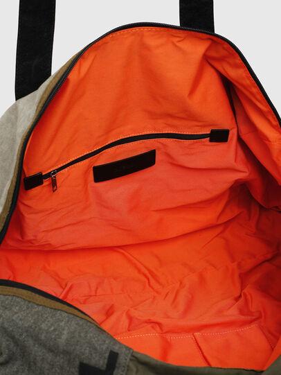 Diesel - D-THISBAG TRAVEL BAG, Olive Green - Travel Bags - Image 4