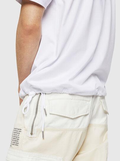 Diesel - T-ALEKSEY, White - T-Shirts - Image 3