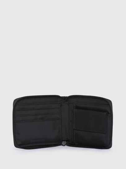 Diesel - ZIPPY HIRESH S II, Black - Small Wallets - Image 3