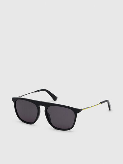 Diesel - DL0297, Black/Yellow - Sunglasses - Image 2