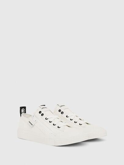 Diesel - S-ASTICO LOW ZIP W, White - Sneakers - Image 2