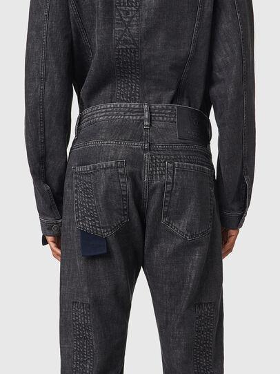 Diesel - D-Viker 0AFAF, Black/Dark grey - Jeans - Image 4