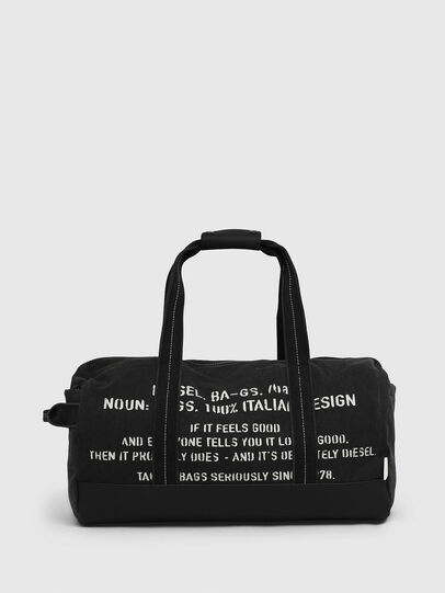 Diesel - D-THISBAG TRAVEL BAG, Black - Travel Bags - Image 1