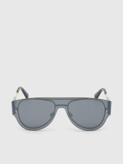 Diesel - DL0273, Black/Yellow - Sunglasses - Image 1
