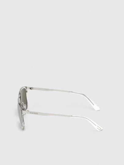 Diesel - DL0294, White/Black - Sunglasses - Image 3