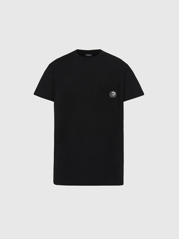 T-WORKY-MOHI, Black - T-Shirts