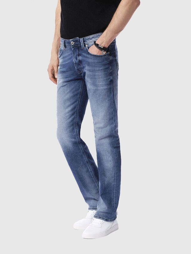 Diesel Larkee 0853P, Light Blue - Jeans - Image 4