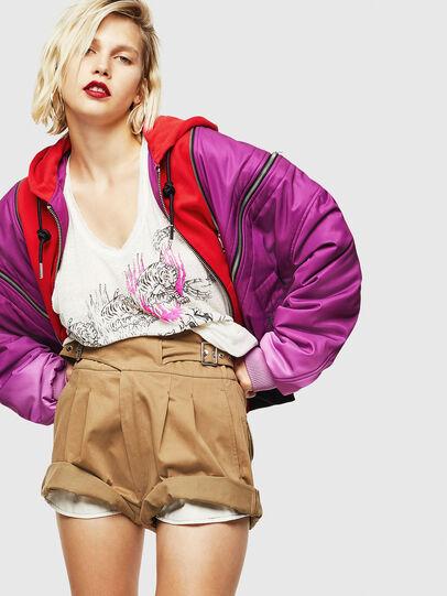 Diesel - S-BISA, Light Brown - Shorts - Image 4