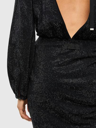 Diesel - D-RENEE-BLING-V2, Black - Dresses - Image 3