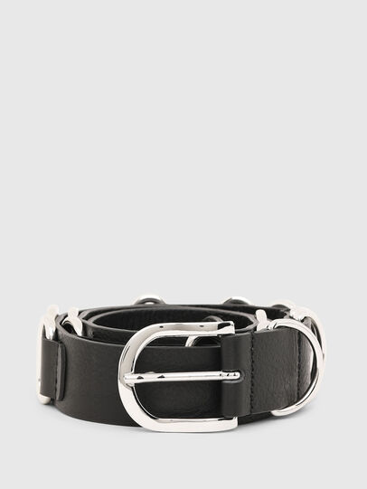 Diesel - B-MERRING, Black - Belts - Image 1