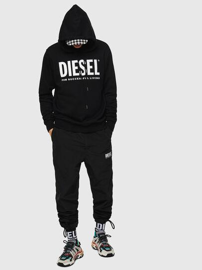 Diesel - S-GIR-HOOD-DIVISION-, Black - Sweaters - Image 4