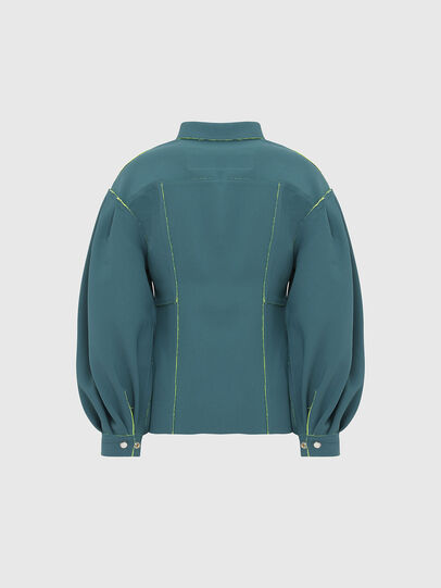 Diesel - G-ALBA, Water Green - Jackets - Image 2