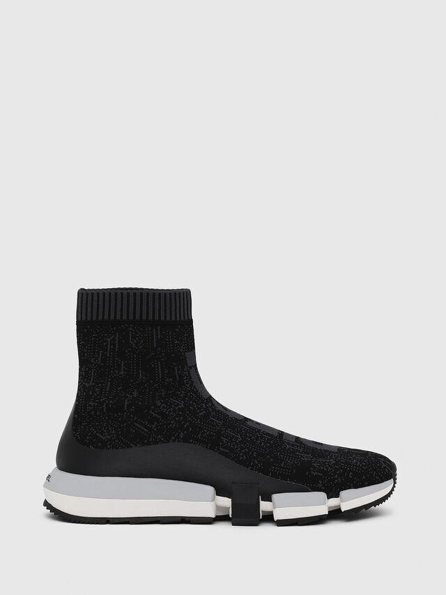 Diesel - H-PADOLA MID SOCK, Black - Sneakers - Image 1
