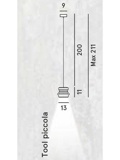Diesel - TOOL PICCOLA SOSP, Black - Hang Lighting - Image 2