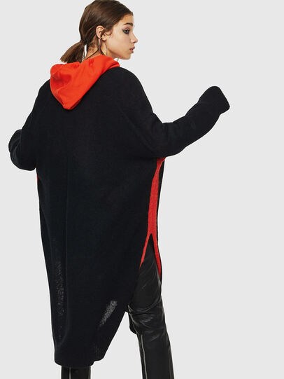 Diesel - M-SURI, Black/Red - Knitwear - Image 2