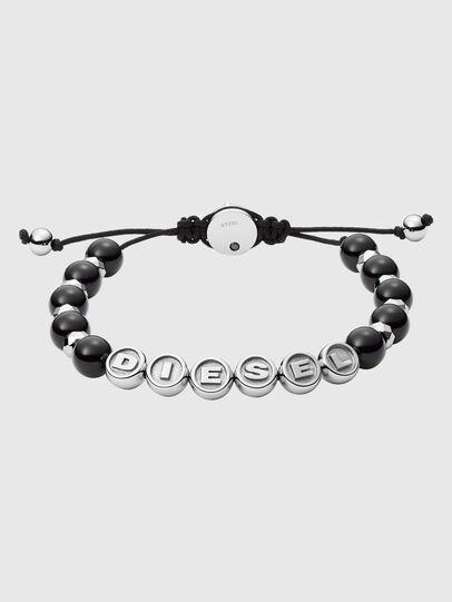 Diesel - DX1267, Black/Silver - Bracelets - Image 1