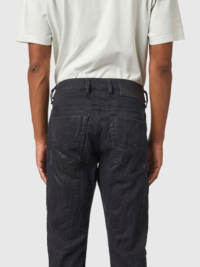 Diesel - Krooley JoggJeans® 069WB, Black/Dark grey - Jeans - Image 4