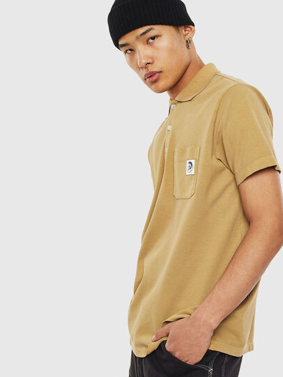 Diesel - T-POLO-WORKY, Beige - Polos - Image 4