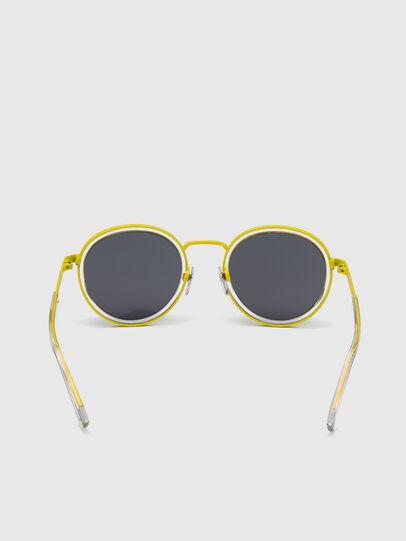 Diesel - DL0321, Black/Yellow - Sunglasses - Image 4