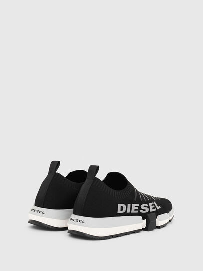 Diesel - H-PADOLA LOW SOCK, Black - Sneakers - Image 3
