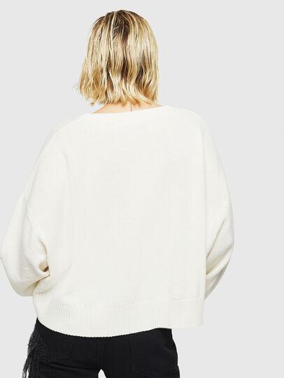 Diesel - M-LUREXY, White - Knitwear - Image 2