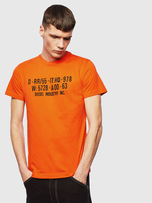 T-DIEGO-S2, Orange - T-Shirts