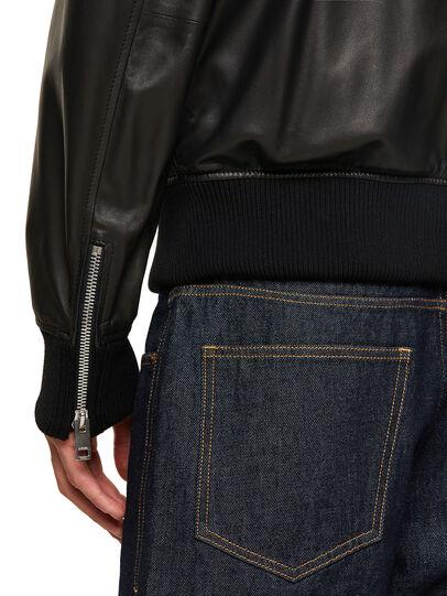 Diesel - L-ABBOTT, Black - Leather jackets - Image 3