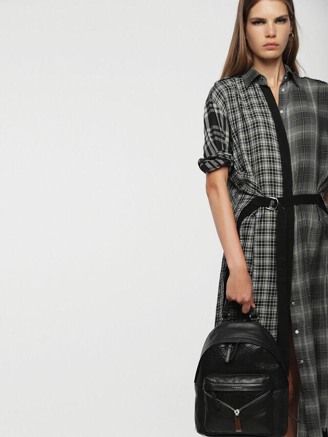 Diesel - LE-ONY, Black - Backpacks - Image 6