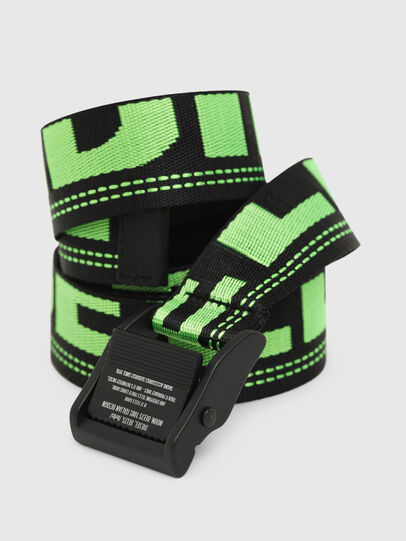 Diesel - B-MASER, Black/Green - Belts - Image 2