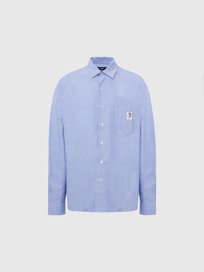 S-LOOMY-A, Light Blue - Shirts