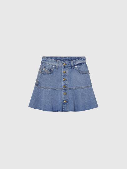 Diesel - DE-BETHY, Light Blue - Skirts - Image 1