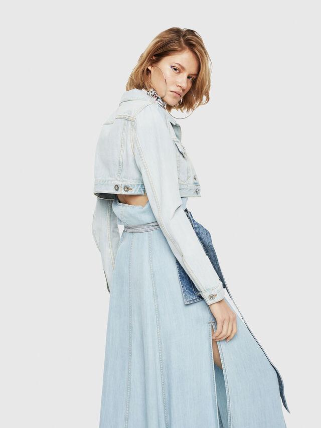 Diesel - DE-ZAUPY, Blue Jeans - Denim Jackets - Image 2