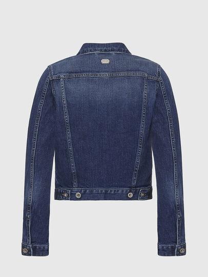 Diesel - DE-LIMMY, Dark Blue - Denim Jackets - Image 2