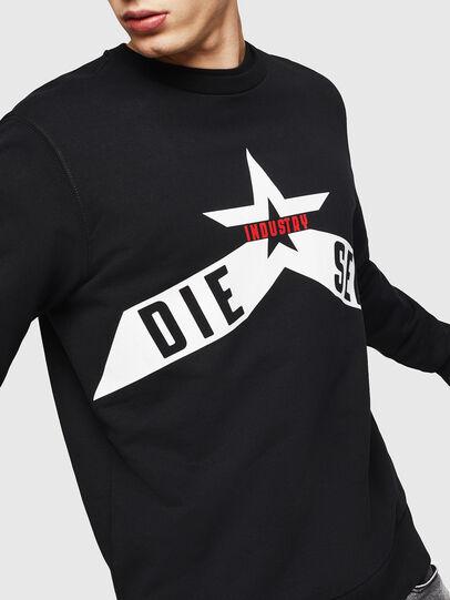 Diesel - S-GIR-A2, Black - Sweaters - Image 3