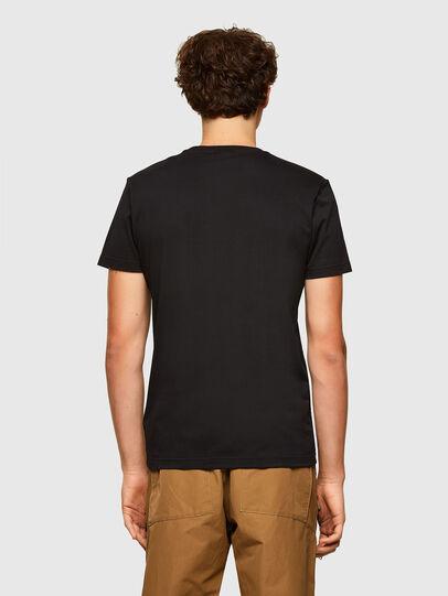 Diesel - T-DIEGOS-A2, Black - T-Shirts - Image 2