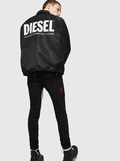 Diesel - J-AKIO-A, Black - Jackets - Image 6