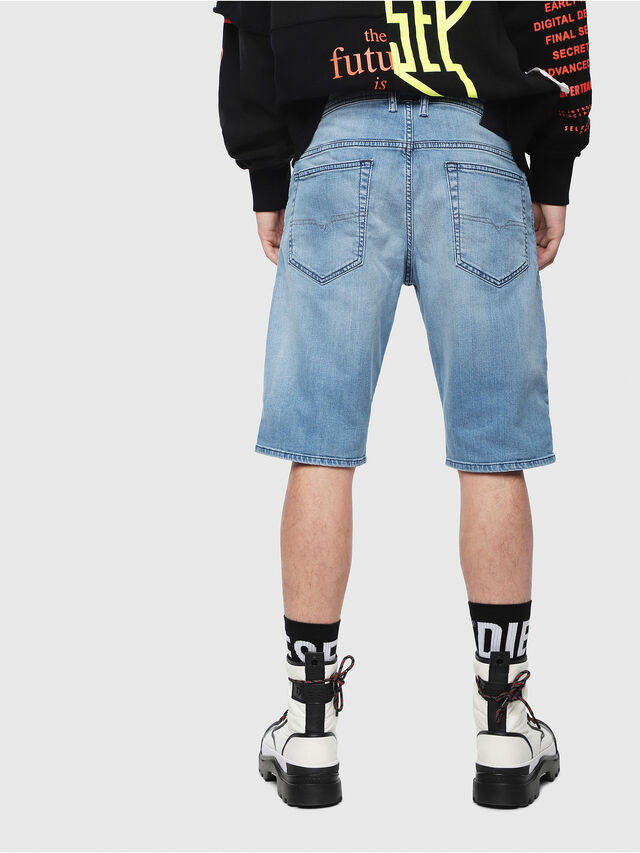 Diesel - THOSHORT, Light Blue - Shorts - Image 2