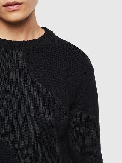 Diesel - K-CAMMY, Black - Knitwear - Image 5