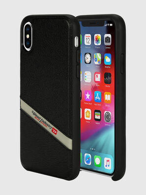 DIESEL LEATHER CO-MOLD CASE FOR IPHONE XS & IPHONE X,  - Cases