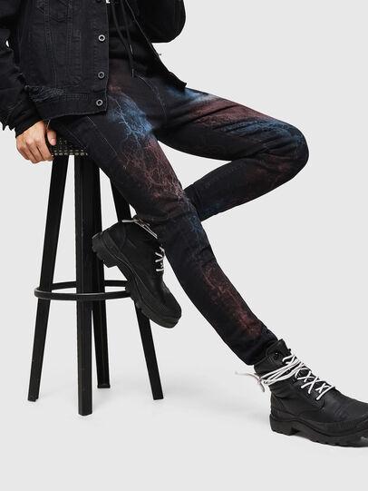 Diesel - D-Amny 0093D, Black/Dark grey - Jeans - Image 4