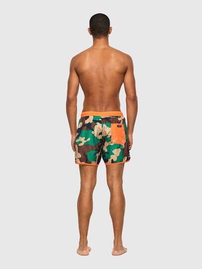 Diesel - BMBX-REEF-40, Green Camouflage - Swim shorts - Image 2