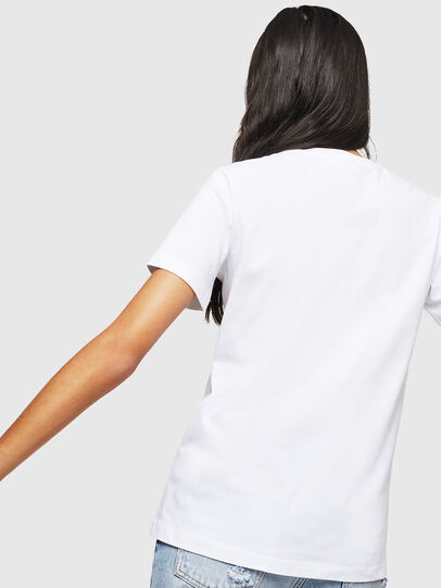 Diesel - T-SILY-WX, White - T-Shirts - Image 2