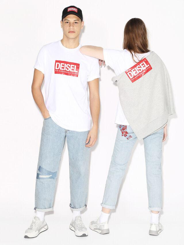 Diesel - DEIS-JUST, White - T-Shirts - Image 4