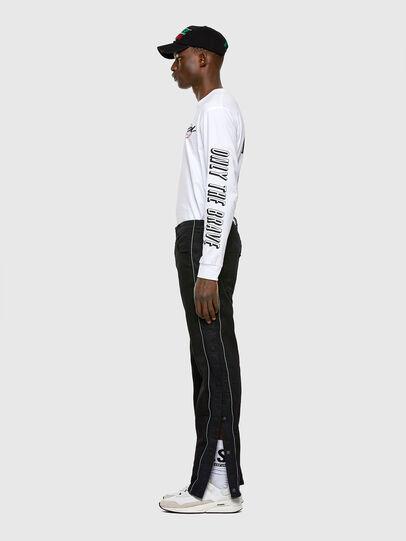 Diesel - Krooley JoggJeans 0KAYO, Black/Dark grey - Jeans - Image 6
