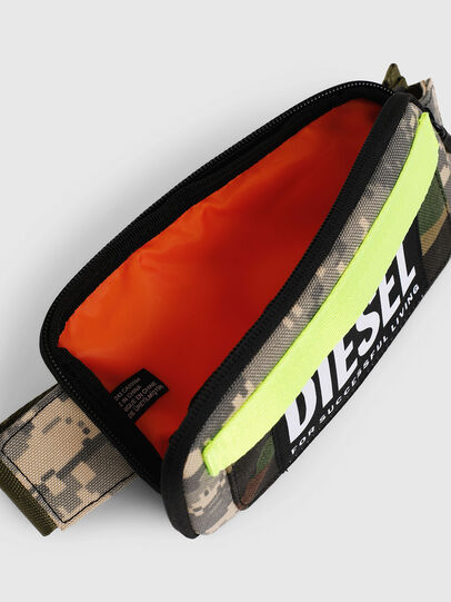 Diesel - BELT RUBBER CASE BIG, Green Camouflage - Continental Wallets - Image 4