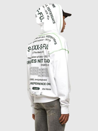 Diesel - S-ALBYSEAM, White - Sweaters - Image 5