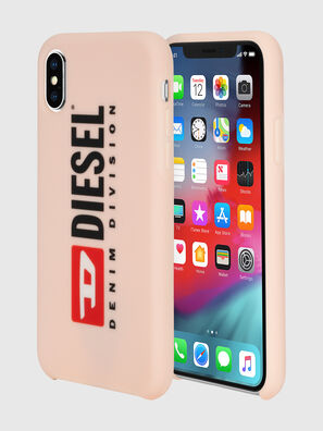 DIESEL PRINTED CO-MOLD CASE FOR IPHONE XS & IPHONE X, Face Powder - Cases