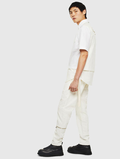 Diesel - P-ARMY, White - Pants - Image 7